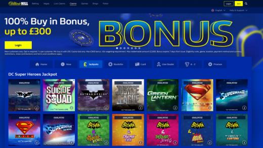 William Hill Casino Review & Bonuses